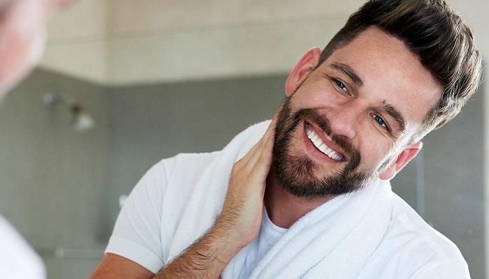 hidratar la barba