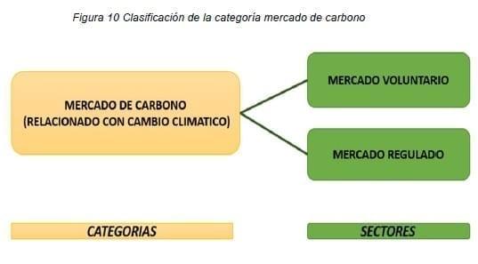 Clasificación de la categoría mercado de carbono