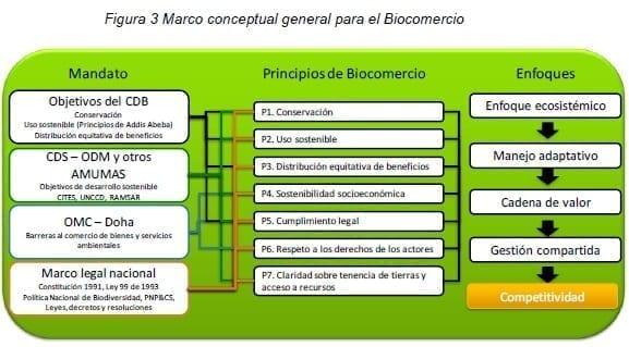 Marco conceptual general para el Biocomercio
