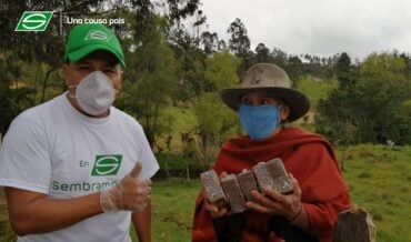 Campesinos de Jenesano Boyacá
