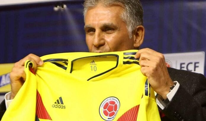Selección Colombia en la Era Queiroz