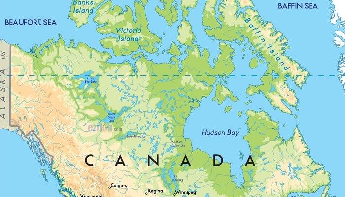 Geografía de Canadá