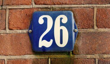 Numerología de la Casa