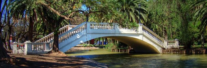 Parque Independencia en Rosario