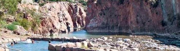 Aguas Termales en Termas del Río Hondo