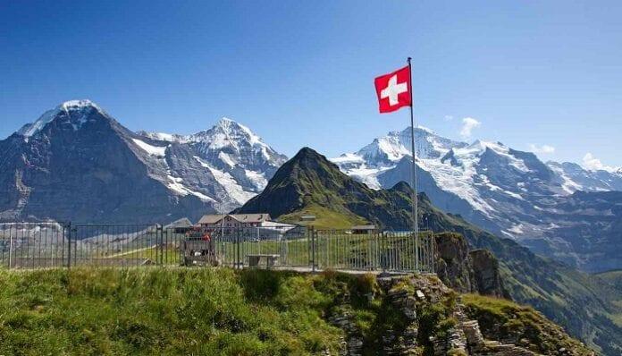 Geografía de Suiza