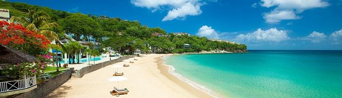 Playas en Santa Lucía