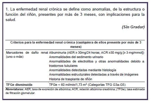 Definición de la ERC