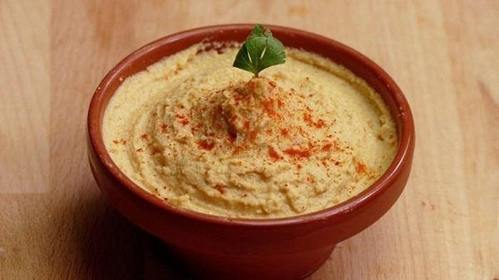 Hummus libre de gluten