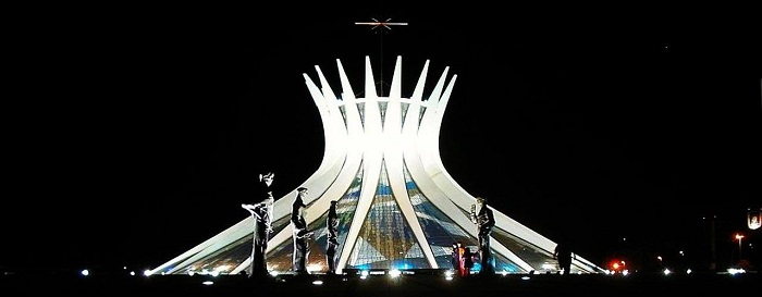 Catedral Metropolitana en Brasilia