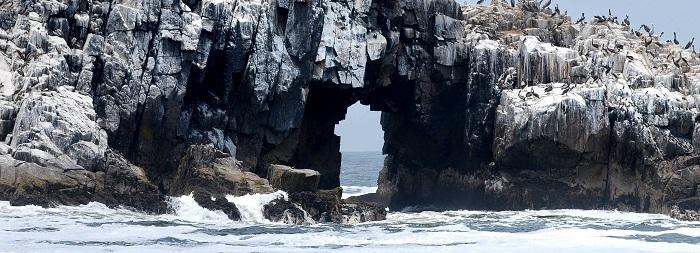 Islas del Callao, Islas Palomino