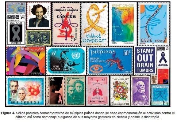 investigación del cáncer - Sellos postaless