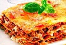 Lasagna de carne clásica