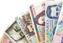 Peso colombiano en 2021, Billetes de pesos colombianos, Depositphotos