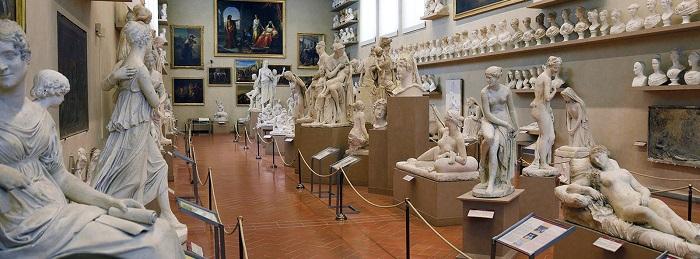 Galleria dell'Accademia en Florencia, Museos para Visitar en Italia