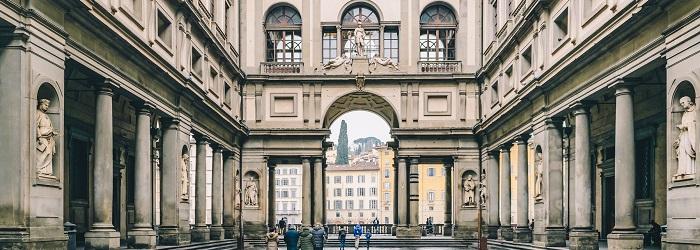 Gallerie Degli Uffizi en Florencia