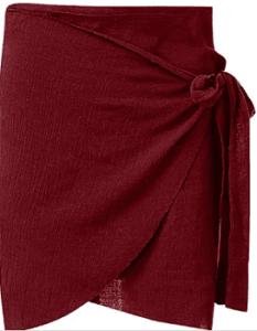 Faldas Wrap nunca pasarán de moda