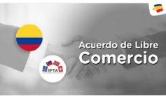 Acuerdo Libre Comercio entre Colombia y Estados de AELC
