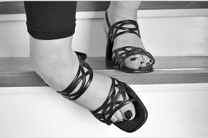 zapatos Tobillos muy anchos