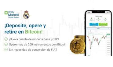 EasyMarkets lanza una cuenta μBTC, comerciar Bitcoin