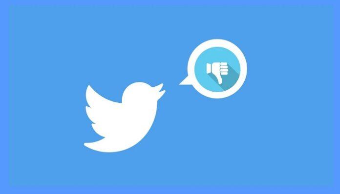 Twitter pone a prueba el botón de No me Gusta