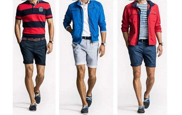 Cómo combinar pantalón corto para hombre