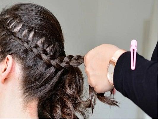 Peinados con trenzas y pelo suelto para cualquier ocasión