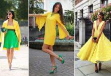 Qué Zapatos combinar con un Vestido Amarillo