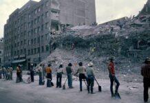 Terremotos en México