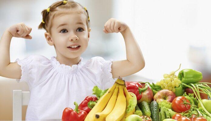 Alimentación balanceada para niños