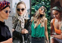 usar tu Bufanda con estilo